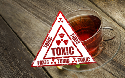 IS THE TEA YOU ARE DRINKING TOXIC AND THE TEA BAG IT IS IN?